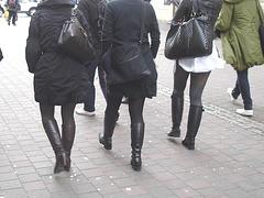 7 Eleven Swedish Quatuor in various footwears