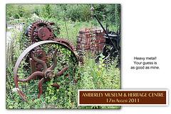 Heavy metal machinery - Amberley Museum - 17.8.2011