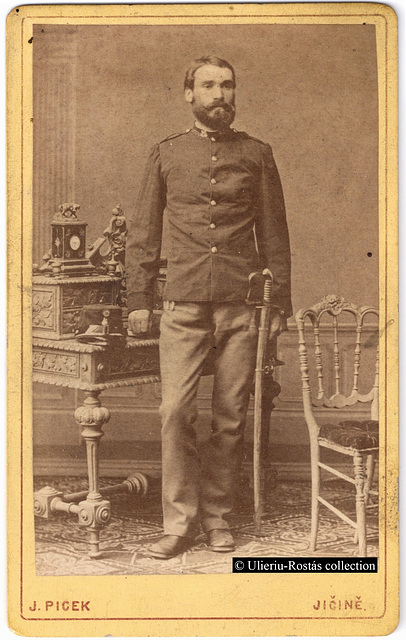 Portrait of an Austro-Hungarian Feldwebel: recto