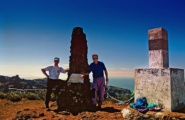 Pico Ruivo - 1860 m