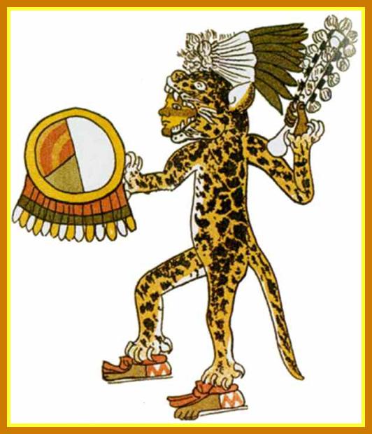 Art Olmèque : Guerrier Jaguar