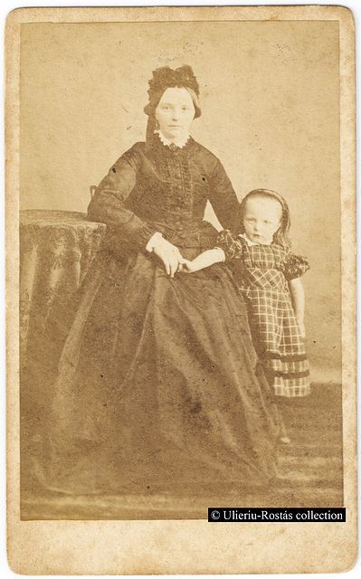 Frau Denker and her daughter