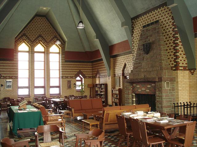 Abbaye de St-Benoit-du-lac au Québec - 7 février 2009