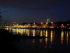 Stadt am Fluß
