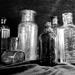 Bottles Group b&w