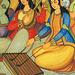 Safavid art - Sur un santour