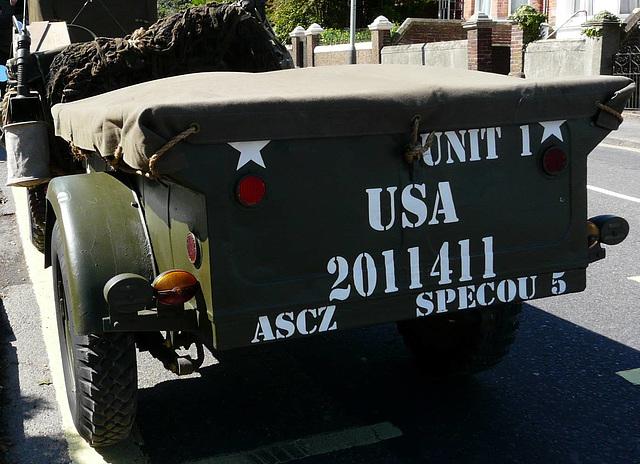 Army Trailer USA