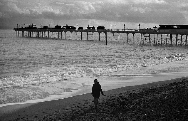 Teignmouth Pier Dec 2009 IID 5cm Elmar 2