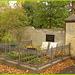 Cimetière de Copenhague- Copenhagen cemetery- 20 octobre 2008-Entre le L et le E. Between the L and the E letter.