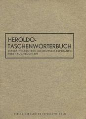 Heroldo Taschenwörterbuch. Köln:1932. (1)