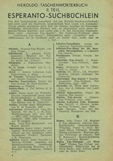 Heroldo Taschenwörterbuch. Köln:1932. (2)