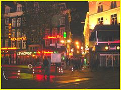 Amsterdam / Casino ensoleillé dans la noirceur / Sunny Casino in the dark-  10 novembre 2007.