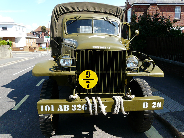 1945 Army Truck USA -Front