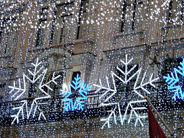 Lights like snow