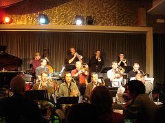 Bruxelles, Belgique - Big band au Jazz Station-  8 novembre 2007.