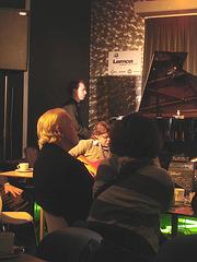 Bruxelles- Big band au Jazz Station- Guitariste -  8 novembre 2007.
