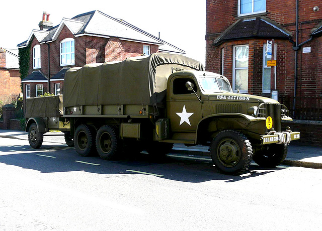 1945 Army Truck USA -Side