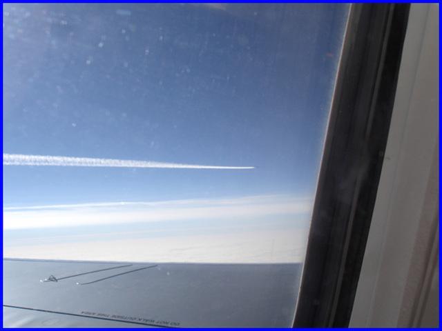 Overtaking jet- Jet sur la gauche- Bruxelles-Montréal- 29 oct 2008