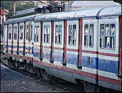 Train at Bostanci