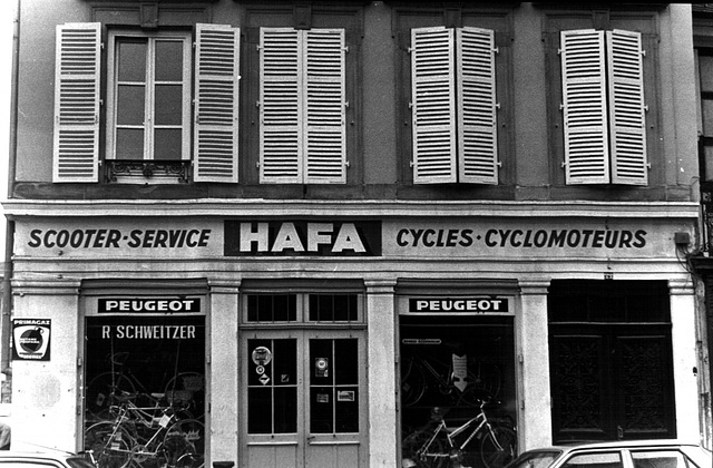 Le marchand de cycles Krutenau Strasbourg