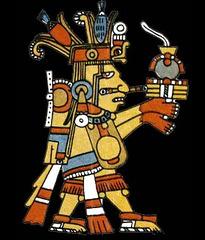 Le dieu Centeotl, Mexique