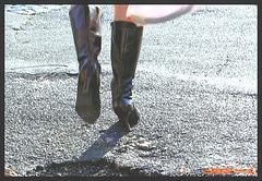 Lilette la pipelette / A street candid gift - Un cadeau de photo de la rue - Décembre 2008
