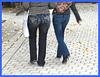 Lilette la pipelette / A street candid gift -  un cadeau de photo de la rue / Version photofiltrée
