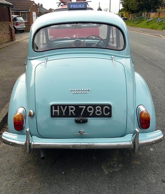 Morris Minor 1000 Back