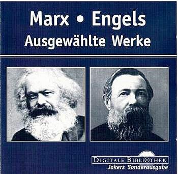 Marx kaj Engels en diĝita biblioteko