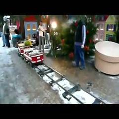 Weihnachtsmarkt - Kinderkarussel in Annaberg