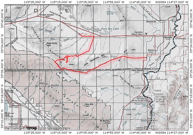 Bradshaw Trail (East)