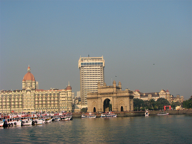Just pulled out  from near the Gateway of India