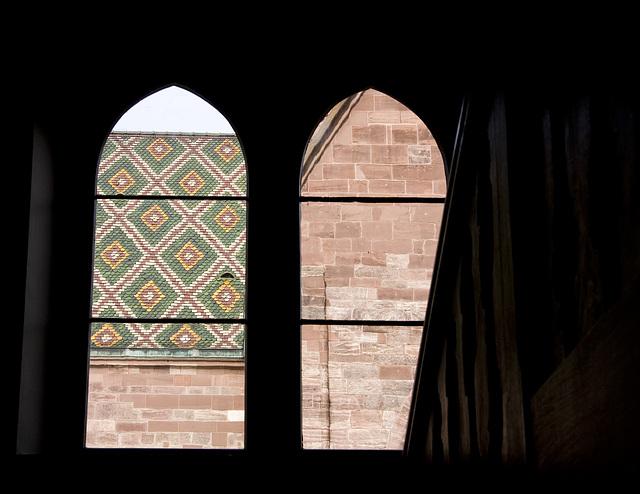 Münster Basel - Blick aus dem Münstersaal