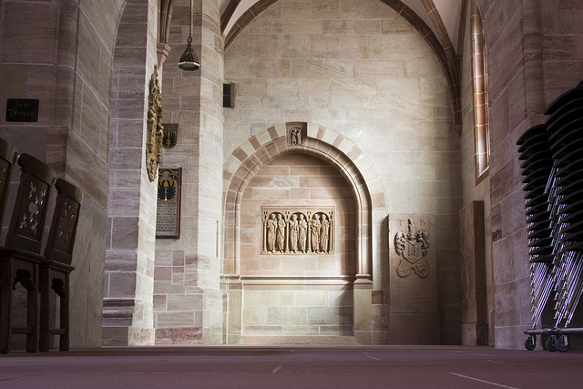Münster Basel - Seitenschiff