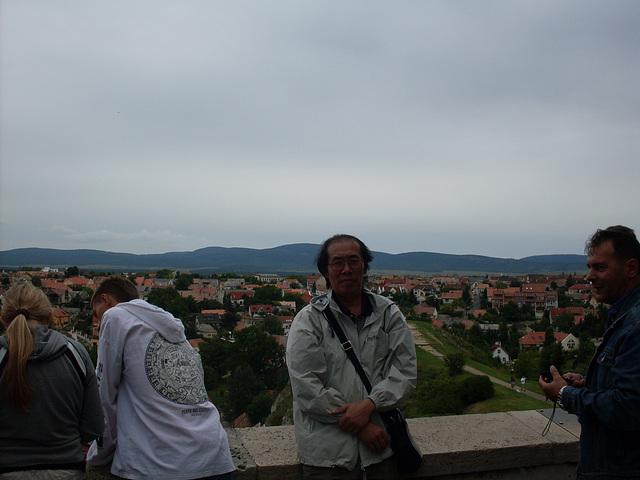 En la fortikajxo de Veszprém