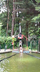 Pierre's boatjump at the playground