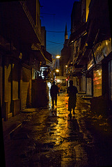 lost in bazar by night.......