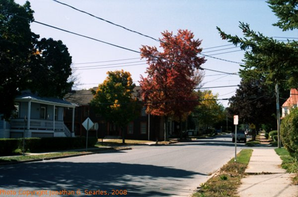 Beekman Street In the Fall, Picture 3, Saratoga, NY, USA, 2008