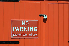 Garage in Constant Use