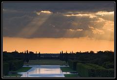 Le grand canal de Versailles