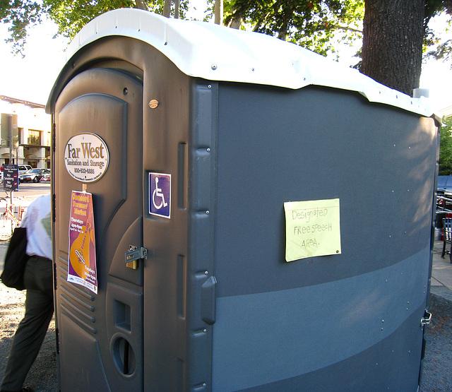 Designated Free Speech Area (3322)