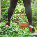 Lady Roxy avec permission / Jardinage en talons hauts - Gardening in high heels !