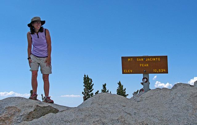 Another Hiker on San Jacinto Peak (0481)