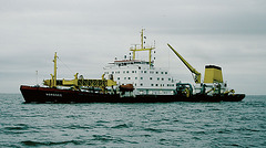 Saugbagger Nordsee