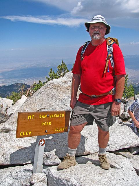 Self on San Jacinto Peak (0480)