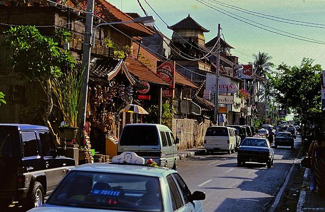 From Kuta to Denpasar City