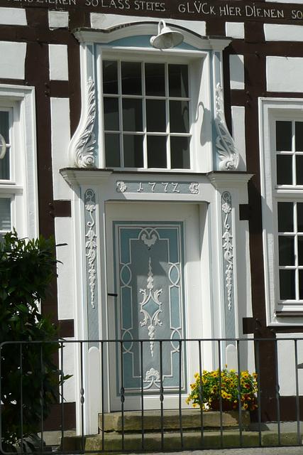 Portal der Dechanei in Delbrück - Westfalen