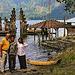 At the seaside of the Lake Batur