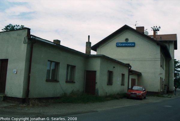 Nadrazi Olbramovice From the Street, Olbramovice, Bohemia (CZ), 2008