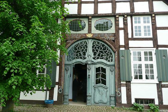 Fachwerkhaus im Freilichtmuseum Detmold